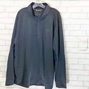 Under armour golf loose coldgear pull over sweater